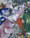 'I and the village' by Chagall