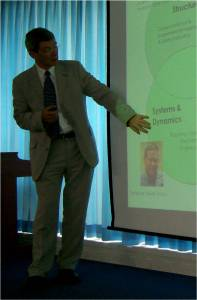 Author lecturing in Yonsei University, Korea