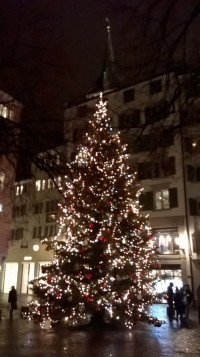 zurich christmas tree