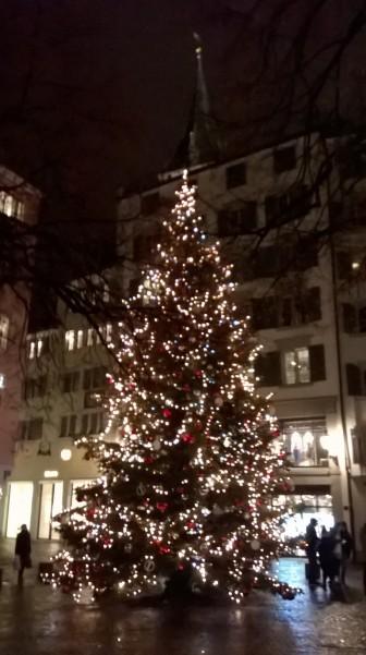 zurich christmas tree